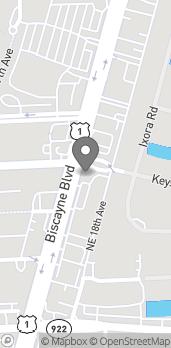 Mapa de 12599 Biscayne Blvd en North Miami