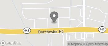Map of 10160 Dorchester Rd in Summerville