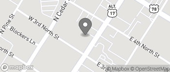 Map of 410 N Main St in Summerville
