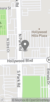 Map of 3273 Hollywood Blvd in Hollywood