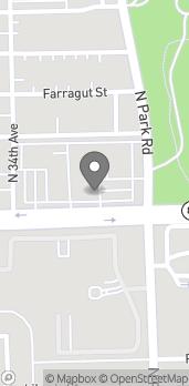 Mapa de 3353-B Sheridan St en Hollywood
