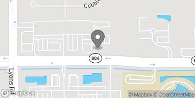 Map of 8773 Boynton Beach Blvd in Boynton Beach