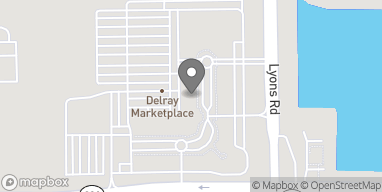 Map of 14851 Lyons Road in Delray Beach