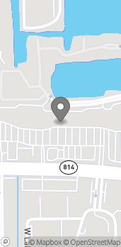 Map of 5417 W Atlantic Blvd in Margate