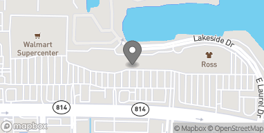 Mapa de 5417 W Atlantic Blvd en Margate