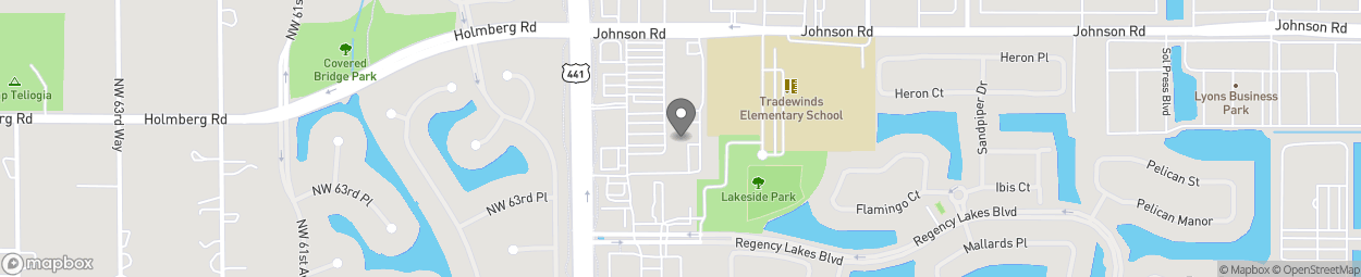 Map of 6546 N State Rd 7 in Coconut Creek