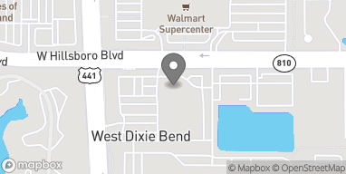 Mapa de 6970 N State Road 7 en Coconut Creek