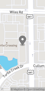 Map of 4240 N State Rd 7 in Coral Springs