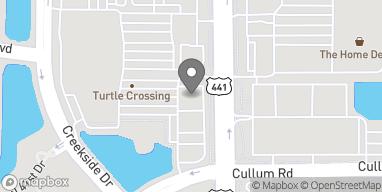 Map of 4240 N State Rd 7 in Coral Springs