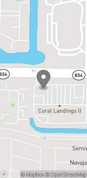 Mapa de 6290 W Sample Rd en Coral Springs