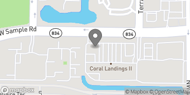 Map of 6290 W Sample Rd in Coral Springs