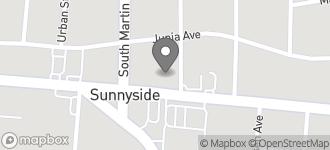 Map of 907 Waughtown Street in Winston-Salem