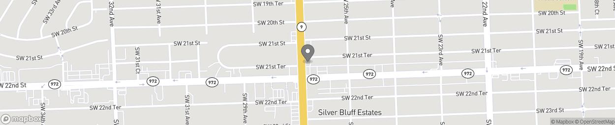 Map of 2151 SW 27th Avenue in Miami