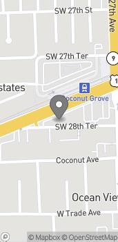 Mapa de 2720 S Dixie Hwy en Miami