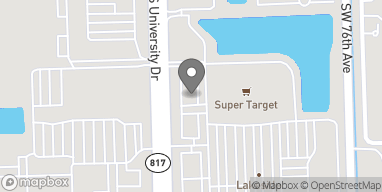 Map of 5780 South University Dr in Davie