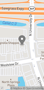 Map of 9519 Westview Drive in Coral Springs