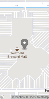 Map of 8000 W Broward Blvd in Plantation