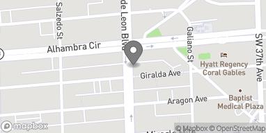 Mapa de 2261 Ponce De Leon en Coral Gables