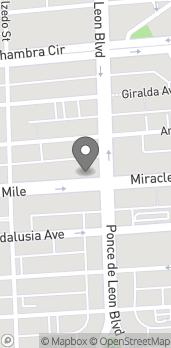 Mapa de 215 Miracle Mile en Coral Gables