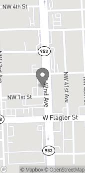 Mapa de 130 NW 42nd Avenue en Miami