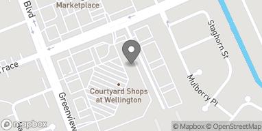 Mapa de 13860 Wellington Trace en Wellington
