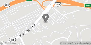 Map of 205 S Stratford Rd in Winston Salem
