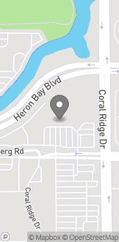 Mapa de 6230 Coral Ridge Drive en Coral Springs