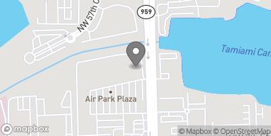 Mapa de 5707 NW 7th St en Miami
