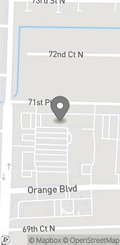 Map of 7040 Seminole Pratt Whitney Rd in Loxahatchee
