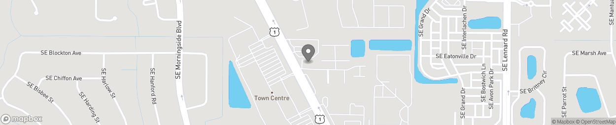 Map of 10070 US Highway 1 in Port St. Lucie