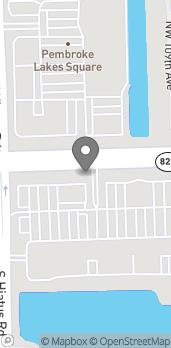 Mapa de 11060 Pines Blvd en Pembroke Pines