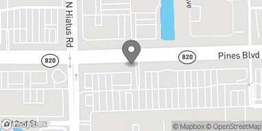 Map of 11060 Pines Blvd in Pembroke Pines