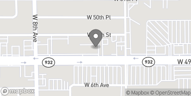Map of 597 W 49th St in Hialeah
