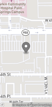 Map of 1448 W. 49th Street in Hialeah