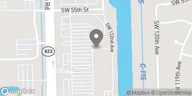 Mapa de 5650 S Flamingo Rd en Cooper City