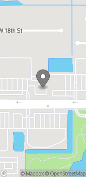 Mapa de 12231 W Sunrise Blvd en Plantation