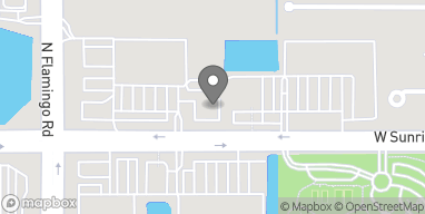 Map of 12231 W Sunrise Blvd in Plantation