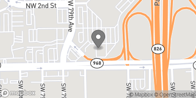Mapa de 7703 West Flagler Street en Miami