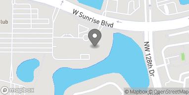 Mapa de 13450 West Sunrise Blvd en Sunrise
