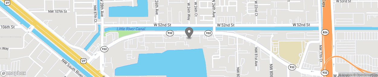 Map of 8300 NW 103rd Street in Hialeah