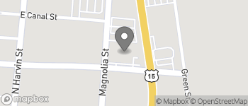 Map of 105 North Magnolia St in Sumter