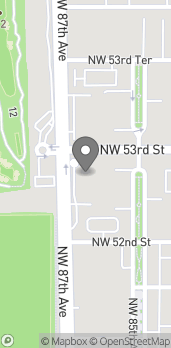 Map of 5241 NW 87th Ave in Doral