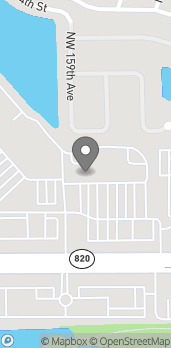 Map of 15731 Pines Blvd in Pembroke Pines