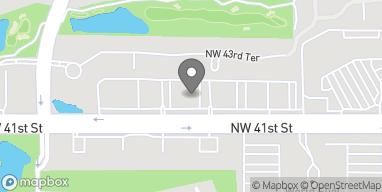 Mapa de 10003 NW 41st St en Miami