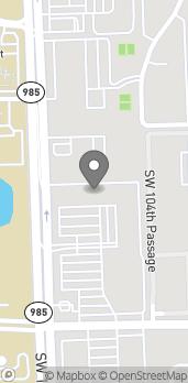 Mapa de 1317 SW 107th Ave en Miami