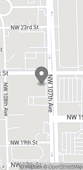 Mapa de 2086 NW 107th Ave en Miami