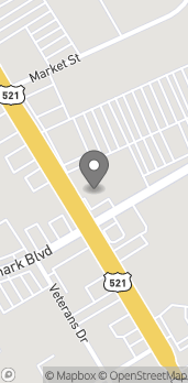 Map of 1101 Broad St in Sumter
