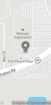 Map of 5200 Okeechobee Rd in Fort Pierce
