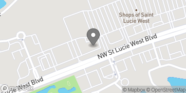 Map of 1395 NW St. Lucie West Blvd in Port St. Lucie