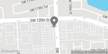 Mapa de 12030 SW 127th Ave en Miami